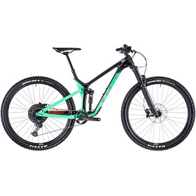 "Marin Rift Zone Carbon 1 29"", gloss carbon/teal/red"